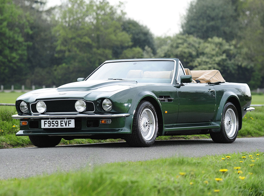 1978 aston martin v8 volante. Black Bedroom Furniture Sets. Home Design Ideas