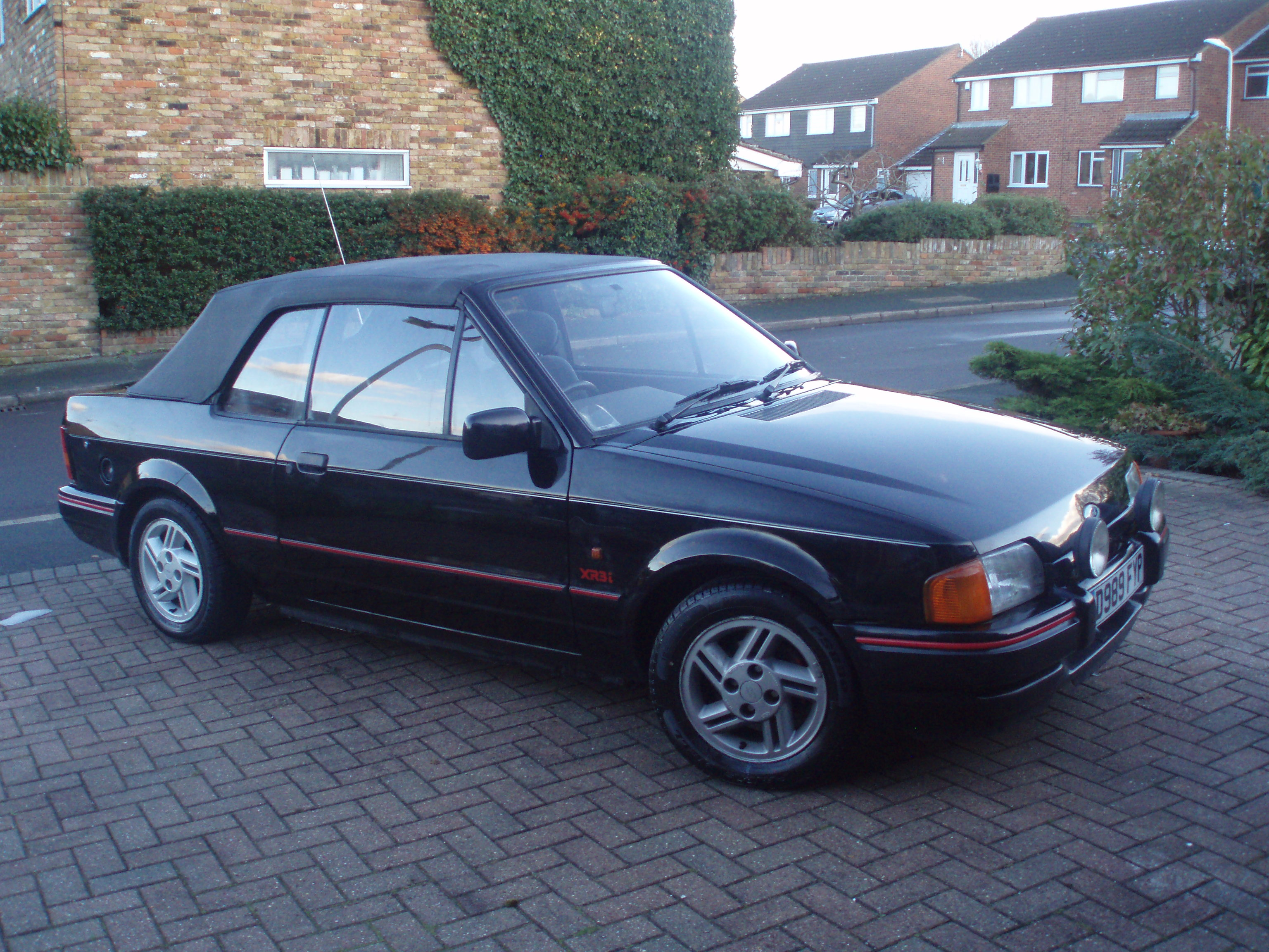 1981 ford escort xr3 cabriolet. Black Bedroom Furniture Sets. Home Design Ideas