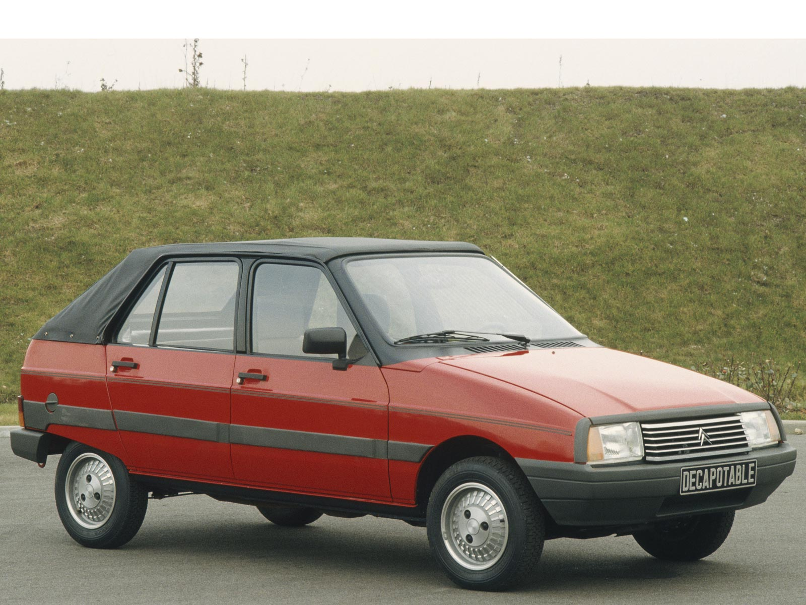 1983 Citroen Visa Decapotable