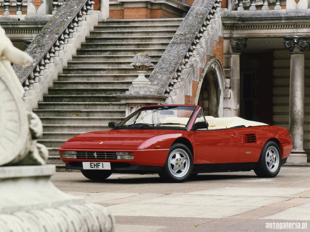 1984 ferrari mondial 3 2 cabriolet. Black Bedroom Furniture Sets. Home Design Ideas