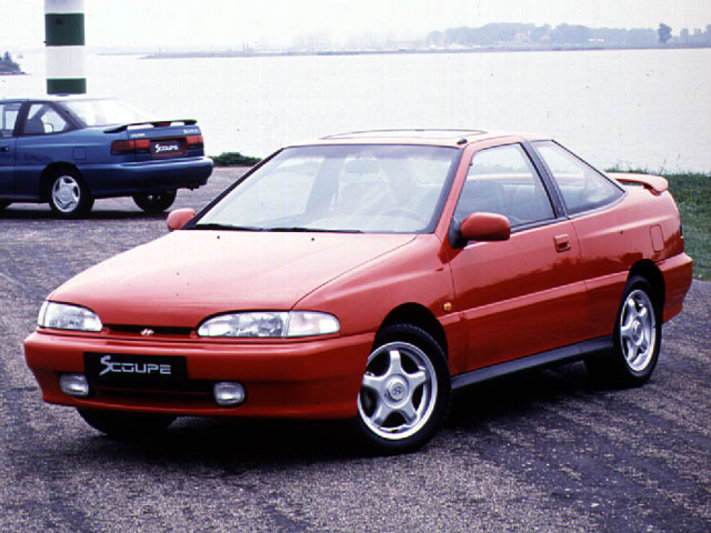 1990 Hyundai Scoupe GT Turbo - CarsAddiction.com