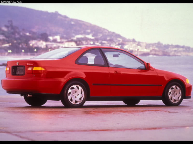 1992 Honda Civic Coupe