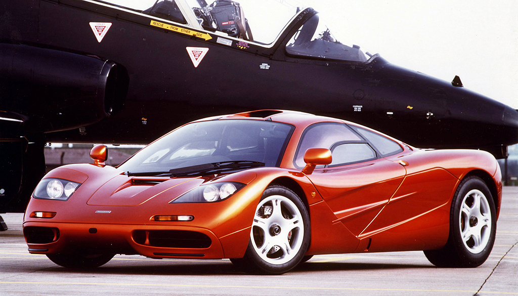 1993 McLaren F1 - CarsAddiction.com