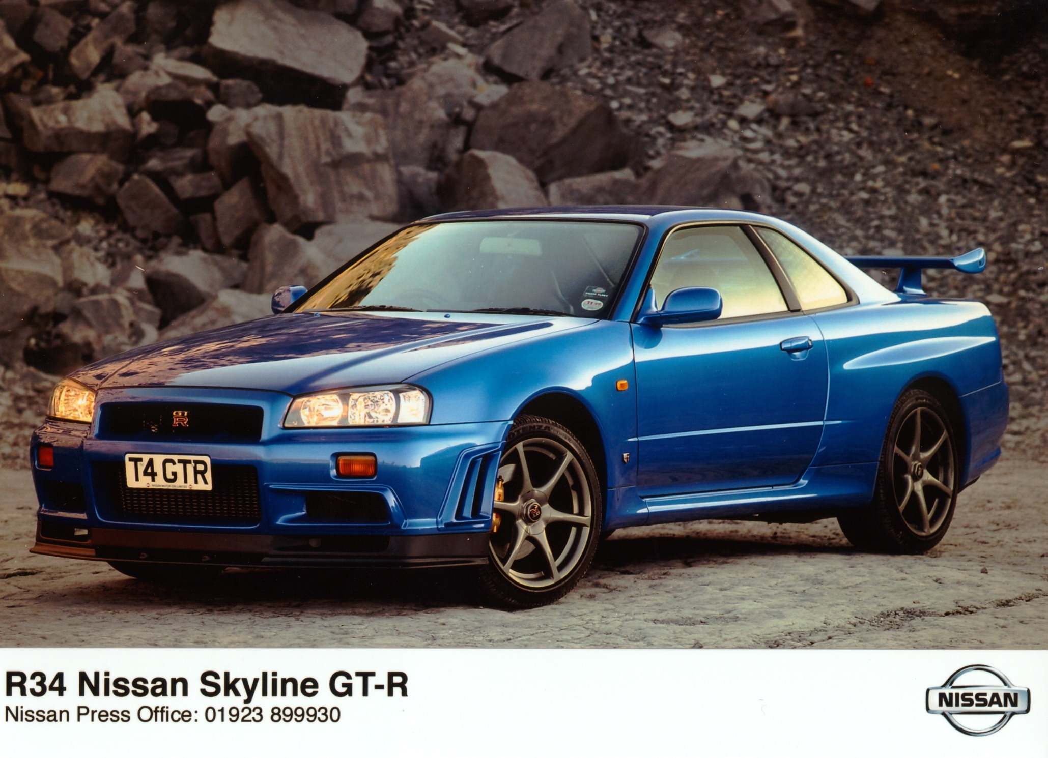 Marvelous 1999 Nissan Skyline GT R R34