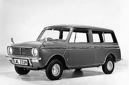 1969 Mini Morris Clubman Estaate