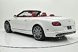 2016 Bentley Continental GT Speed Convertible