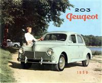 1950 Peugeot 203 Family Saloon