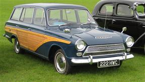 1963 Ford Consul Cortina Super Estate