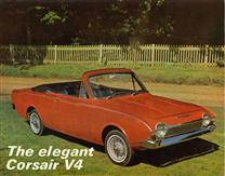 1966 Ford Corsair Crayford Convertible