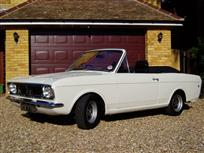 1967 Ford Cortina 2 Crayford Convertible