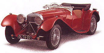 1936 Jaguar SS 100 3.5 Litre Open Sports
