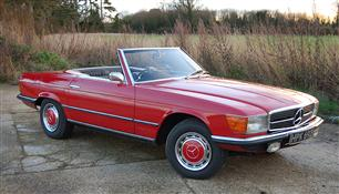 1971 Mercedes-Benz 350SL