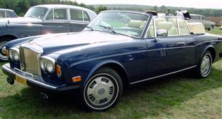 '84 Bentley Continental Drophead Coupe