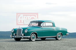 1956 Mercedes-Benz 220 S Coupe