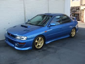 1997 Subaru Impreza Version IV Type-RA V limited