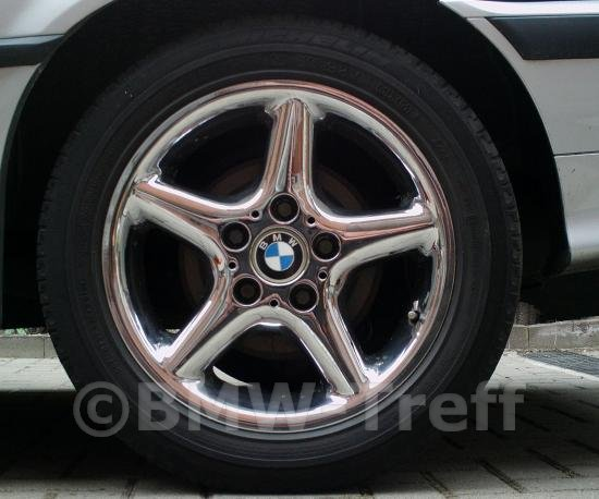 BMW Style 18 Chrome Wheels