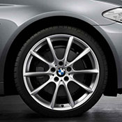 BMW 5series Wheel specs, tires, pcd and offset